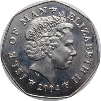 "ЮАР 20 центов 1968 г., PROOF, ""Окончание президентства Чарльза Сварта /SOUTH AFRICA/"""