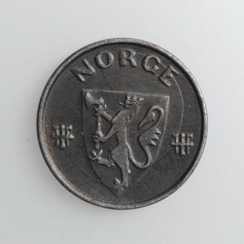"""Норвегия 5 эре 1942 г., AU, """"Король Хокон VII (1906 - 1957)"""""""
