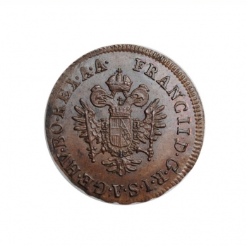 "Австрия 1/4 крейцера 1800 г. A, UNC, ""Император Франц II (1792 - 1835)"""