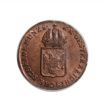 """Австрия 1/4 крейцера 1816 г. S, UNC, """"Император Франц II (1806 - 1835)"""""""
