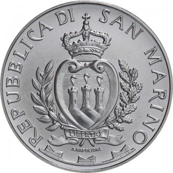 Сан-Марино 5 евро 2014 г., BU, '25 лет падения Берлинской стены'