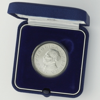 Италия 5 евро 2007 г., BU, '50 лет со дня смерти Артуро Тосканини'