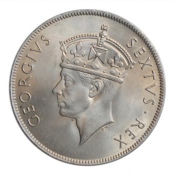 """Британская Восточная Африка 1 шиллинг 1952 г., BU, """"Король Георг VI (1937 - 1952)"""""""