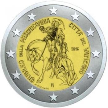 Ватикан 2 евро 2016 г., BU, 'Год милосердия'