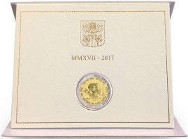 Ватикан 2 евро 2017 г., BU, '1950 лет мученичеству Святого Петра и Святого Павла'