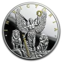 """Ниуэ 1 доллар 2019 г., PROOF, """"Победителю - Виктория и львы"""""""