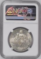 """Бавария 1 талер 1866 г., NGC MS62, """"Король Людвиг II (1864 - 1886)"""""""