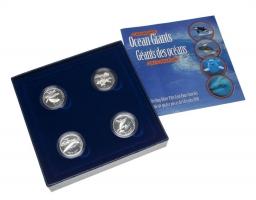 Канада набор 50 центов 1998 г., PROOF, 'Гиганты океана'