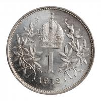 "Австрия 1 крона 1926 г., BU, ""Император Франц Иосиф (1848 - 1916)"""