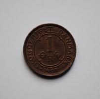 Дания 1 эре 1907 г., XF-UNC