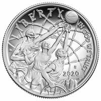 "США 50 центов 2020 г., PROOF, ""Зал славы баскетбола"""