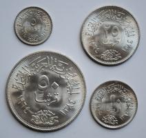 Египет комплект 5, 10, 25, 50 пиастров 1964 г., BU, 'Отведение Нила'