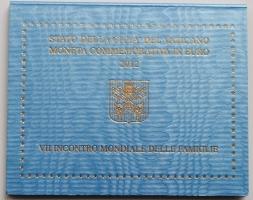 Ватикан 2 евро 2012 г., BU, 'VII Всемирная встреча семей'
