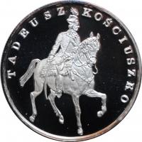 """Польша 100000 злотых 1990 г., PROOF, """"Тадеуш Костюшко"""""""