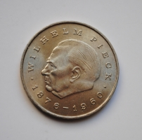 ГДР 20 марок 1972 г., UNC, 'Первый президент ГДР - Вильгельм Пик'