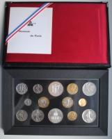 Редкий набор Франции 1989 г., BU, c 10 франками '300 лет со дня рождения Шарля Луи де Монтескьё'