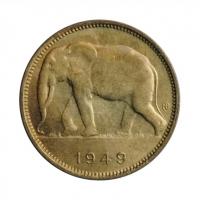 """Бельгийское Конго 1 франк 1949 г., BU, """"Колония Бельгии (1909 - 1949)"""""""