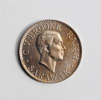 "Саравак 10 центов 1934 г., BU, ""Раджа Чарльз Вайнер Брук (1917 - 1946)"""