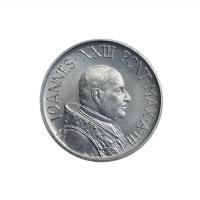 "Ватикан 5 лир 1961 г., BU, ""Папа Иоанн XXIII (1959 - 1962)"""