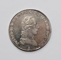 Австрия 1/4 талера 1790 г., XF, 'Император Иосиф II (1780 - 1790)'