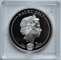 Науру 1 доллар 2017 г., PROOF, 'Чемпионат Мира по футболу в России 2018'