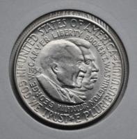 США 50 центов 1954 г. S, UNC, 'Карвер и Вашингтон'