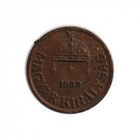 "Венгрия 1 филлер 1933 г., XF, ""Регентство (Pengő) (1926 - 1945)"""