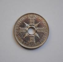 Новая Гвинея 1 шиллинг 1935 г., XF, 'Мандатная территория (1929 - 1945)'