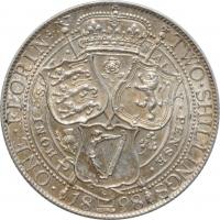 ГДР 5 марок 1986 г., UNC, 'Новый дворец в парке Сан-Суси в Потсдаме'