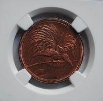 Германская Новая Гвинея 10 пфеннигов 1894 г., NGC UNC, 'Колония Германии (1885 - 1915)'