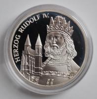 Австрия 100 шиллингов 2001 г., PROOF, 'Рудольф IV'