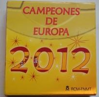 Испания 10 евро 2012 г., PROOF, 'Кубок УЕФА 2012'