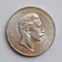 Пруссия 5 марок 1903 г., AU, 'Король Вильгельм II (1888 - 1918)'