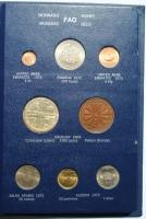 """Альбом 24 монеты мира 1971 - 1973 г., UNC-BU, """"Серия ФАО - Еда для всех"""""""