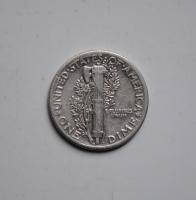США 10 центов 1939 г.