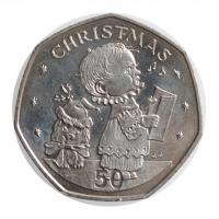 ГДР 5 марок 1978 г., UNC, '175 лет со дня смерти Фридриха Готлиба Клопштока'
