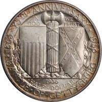 ГДР 10 марок 1972 г., UNC, '175 лет со дня рождения Генриха Гейне'