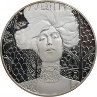 """Австрия 500 шиллингов 1989 г., PROOF, """"Густав Климт"""""""