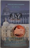 Румыния 1 лей 2013 г., PROOF, '100 лет Академии высоких коммерческих и промышленных исследований'