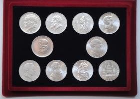 Австрия набор 2 шиллинга 1928-1937 г., 'Юбилейный набор 10 монет'
