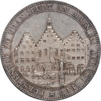 "Франкфурт 1 талер 1863 г., AU, ""Собрание князей"""