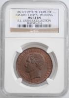 США 50 центов 1936 г., NGC MS67, '200 лет городу Норфолк'