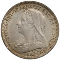 Великобритания 1 фартинг 1866 г., XF-UNC, 'Королева Виктория (1838-1901)'