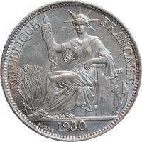 "Индокитай 20 сантимов 1930 г. A, UNC, ""Французский Индокитай (1885 - 1954)"""
