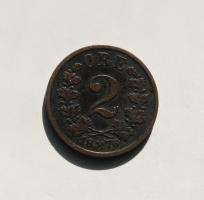 Норвегия 2 эре 1876 г.