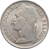 """Бельгийское Конго 1 франк 1926 г. DER, UNC, """"Колония Бельгии (1909 - 1949)"""""""