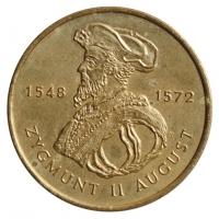 "Польша 2 злотых 1996 г., UNC, ""Сигизмунд II Август (1548 - 1572)"""