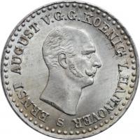 "Ганновер 1/12 талера 1840 г. S, BU, ""Король Эрнст Август (1837 - 1851)"""