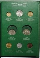 """Альбом 28 монет мира 1973 - 1975 г., UNC-BU, """"Серия ФАО - Еда для всех"""""""