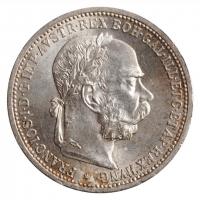 "Австрия 1 крона 1901 г., UNC, ""Император Франц Иосиф (1848 - 1916)"""